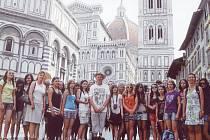 Jeden z výletů zavedl Jeřabinku do Florencie.