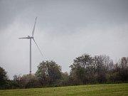Větrná elektrárna v Oldřišově. Ilustrační foto.