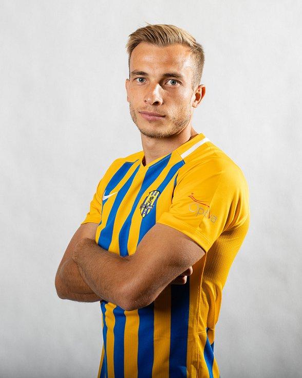 Nemanja Kuzmanovič v dresu Opavy. Ilustrační foto.