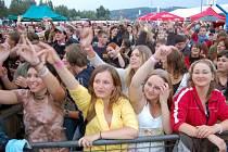 Festival Štěrkovna Music Open letos navštívilo okolo osmi tisíc lidí.