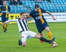 Slezský FC Opava – České Budějovice 2:1.