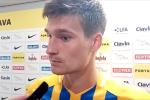Jaroslav Svozil po zápase se Zlínem.