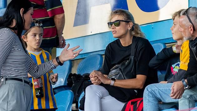 Klára Kováčová držela palce Opavě. Foto: Deník/Petr Widenka
