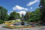 Město Opava - vodotrysky