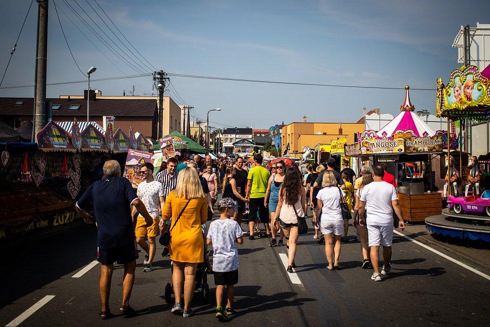 Kravařský odpust, 24. srpna 2019 v Kravařích.