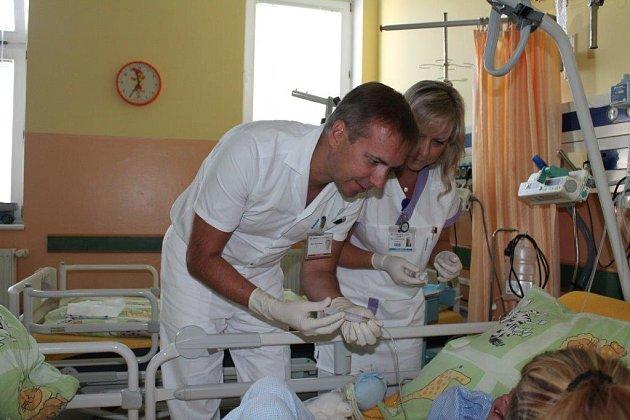 Dalibor Hudec pomáhá nemocným dětem.