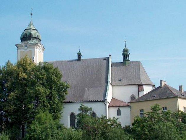 Kostel sv. Jana Křtitele. Ilustrační foto.