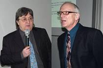 Zdeněk Stuchlík (vlevo) a Hynek Sekanina.