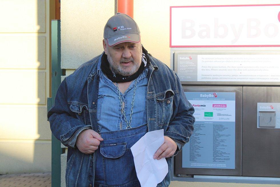 Ludvík Hess a nový babybox ve Slezské nemocnici