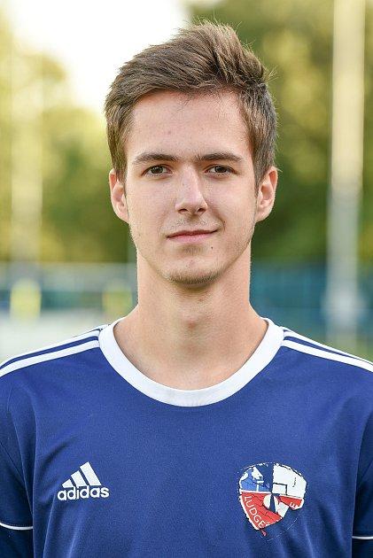 Fotbalový klub TJ Ludgeřovice, 10.září 2020vOstravě. Adam Pleva, záložník