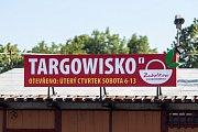 Trhy v Zabełkówe (Zabělkově), 4. června 2019.