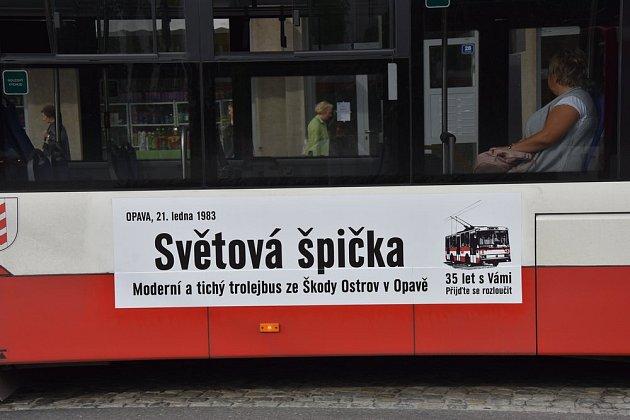 VOpavě slouží posledních 8trolejbusů Škoda 14TrM. Se všemi se budou moci zájemci oMHD projet dne 10.11.2018 naposledy vrámci zvláštního programu.