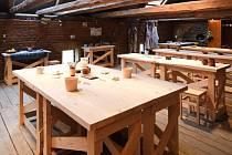 V areálu Davidova mlýna můžete navštívit i keramickou dílnu a vyrobit si zde třeba svůj první hrníček.