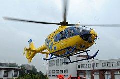 Vrtulník letecké záchranné služby Ostrava - Ilustrační foto.