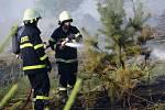 Tak rozsáhlý požár Opavsko dlouho nepamatuje. Od pondělního odpoledne zasahovalo v lese zhruba dva kilometry za Mikolajicemi ve směru na Melč jedenáct jednotek hasičů. Hořelo na ploše o velikosti 25 hektarů. Škoda je zatím odhadována na 6 milionů korun.