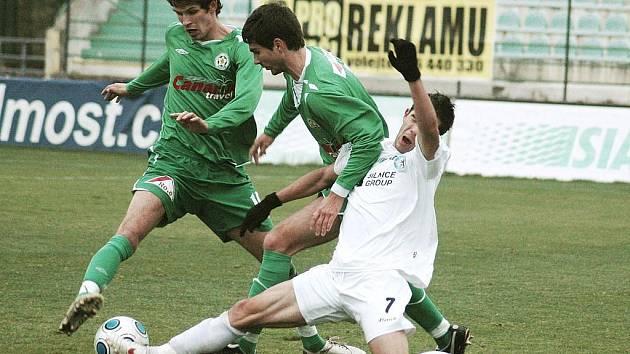 FK Baník Most - FC Hlučín 4:0