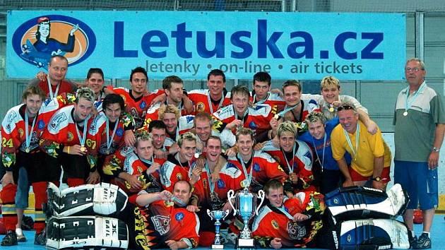 Vítězové poháru SHC Opava.