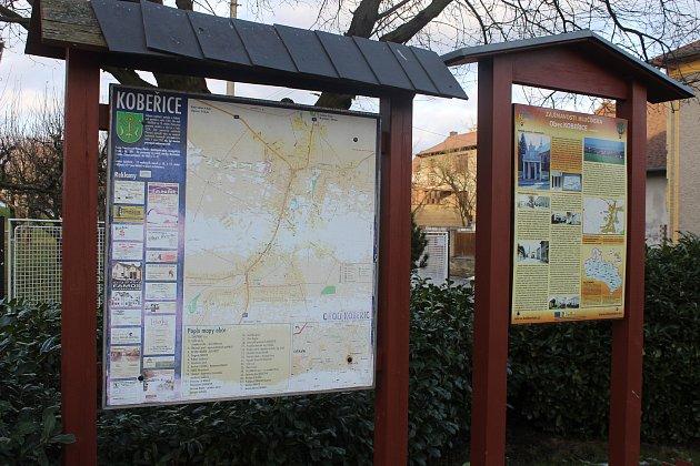 Obec Kobeřice.