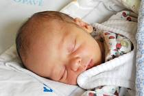 Ondřej Hubálek se narodil 13. července, vážil 3,18 kilogramů a měřil 49 centimetrů. Na sourozence se doma těší starší sestra Klára. Rodiče Bohumila a Martin z Bruntálu svému synovi do života přejí hlavně zdraví, štěstí a spokojenost.