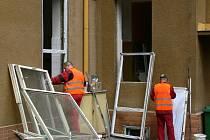 Práce na zvelebení nemocnice jsou v plném proudu.