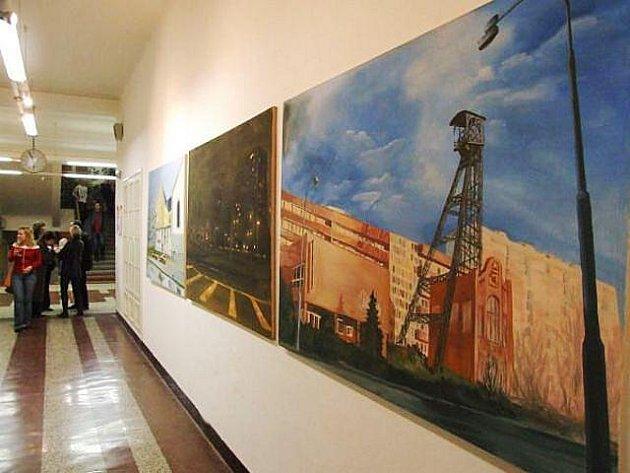Galerie Gaudeamus na Gymnáziu Vítkov má za sebou celou řadu zajímavých výstav.