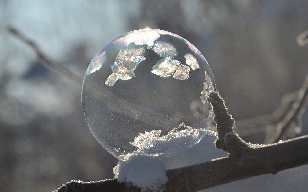 Mrazivé bubliny.