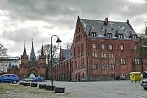 Hotel a restaurace Červeného zámku.