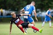 Přípravný zápas SFC Opava - MFK Vítkovice 23. června 2018. Tomáš Čelůstka - o.