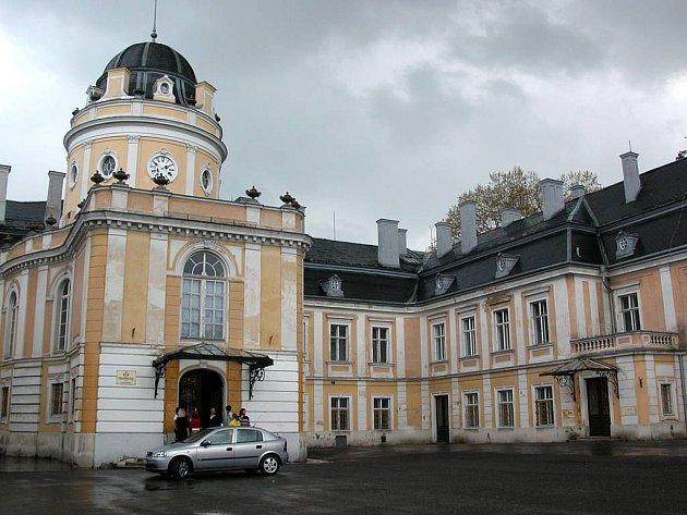 Šilheřovický zámek. Ilustrační foto.