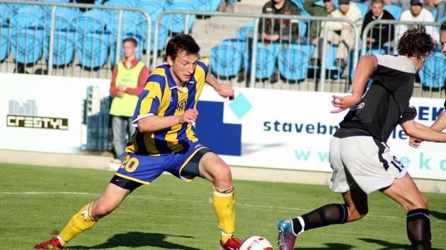 Opavský objev jara Libor Kozák se trefil také ve druhém přípravném utkání před nadcházející sezonou.