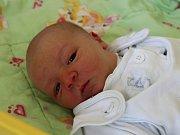 Matěj Faika se narodil 27. srpna 2017, vážil 3,52 kilogramů a měřil 49 centimetrů. Rodiče Veronika a Petr z Kozmic svému prvorozenému synovi přejí, aby byl zdravý a spokojený.