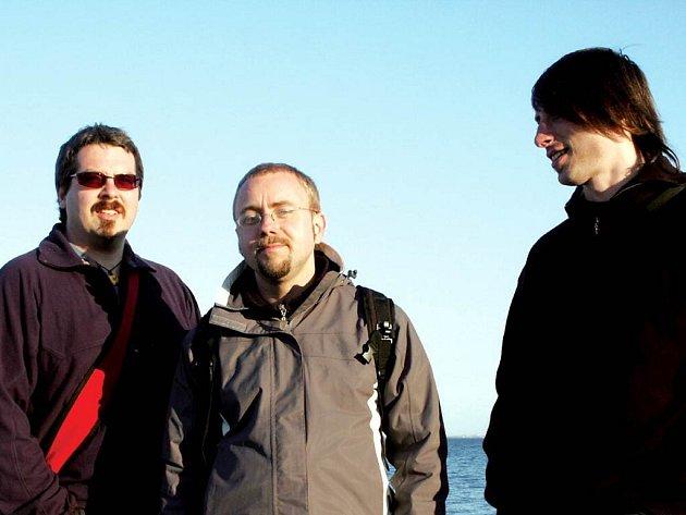 Výkonné jádro nakladatelství Perplex tvoří (zleva) Martin Kubík, Dan Jedlička a Jan Kunze.