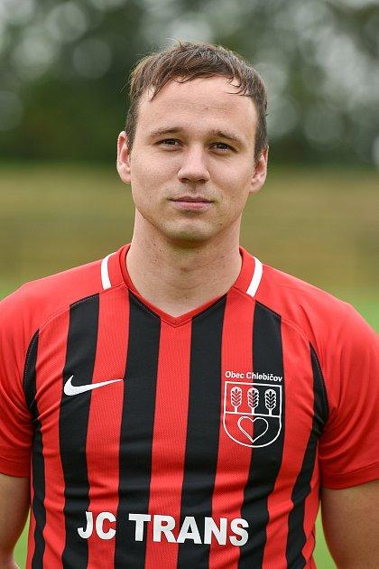 Fotbalový klub SK Viktorie Chlebičov, 9.června 2020vChlebičově. Michal Dušna, stoper.