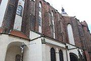 Konkatedrála Nanebevzetí Panny Marie v Opavě.