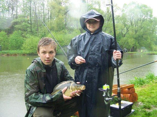 Na udicích mladých rybářů končily zejména kaprovité ryby.