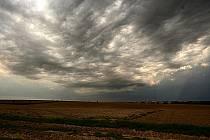 Bouřkové počasí nad Hlučínem.