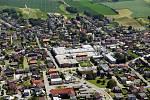 Letecký pohled na Bolatice.