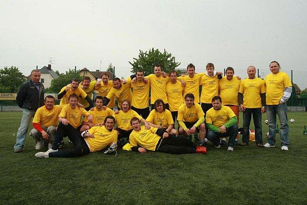 Vítěz letošního ročníku opavského okresního přeboru - FK Kylešovice.