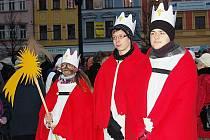 Tři králové v Opavě. Navštívit vás mohou až do 13. ledna.