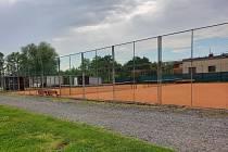 Sportovní areál Olšinky před renovací.