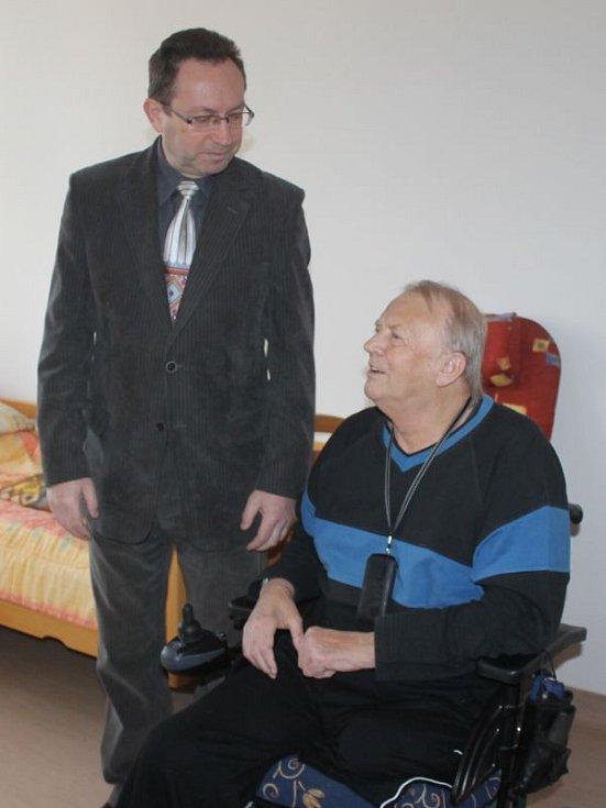 Přes jedenáct milionů korun stála rekonstrukce části domova důchodců Bílá Opava v Rybářské ulici.