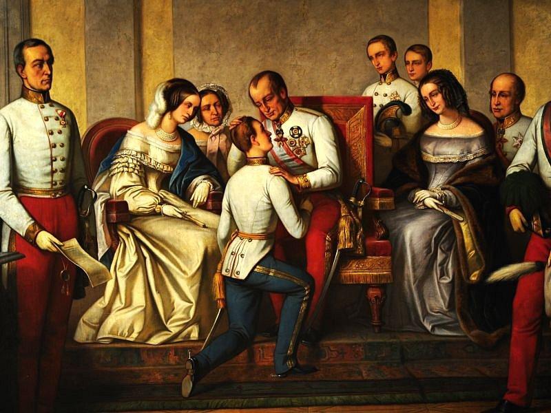 Obraz vytvořil v roce 1876 český malíř František Čermák.