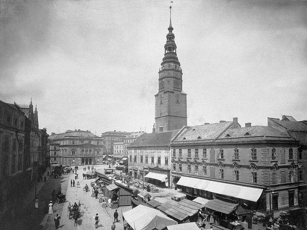 Opava už před sto lety byla krásným městem.