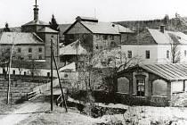 Historický snímek stěbořického pivovaru.