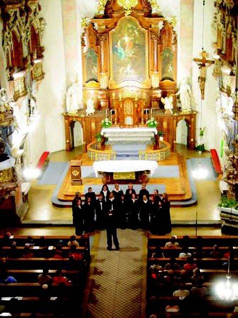 Kostel sv. Vojtěcha hostil festival po dva roky. V letošním roce se přesouvá do kostela sv. Václava.