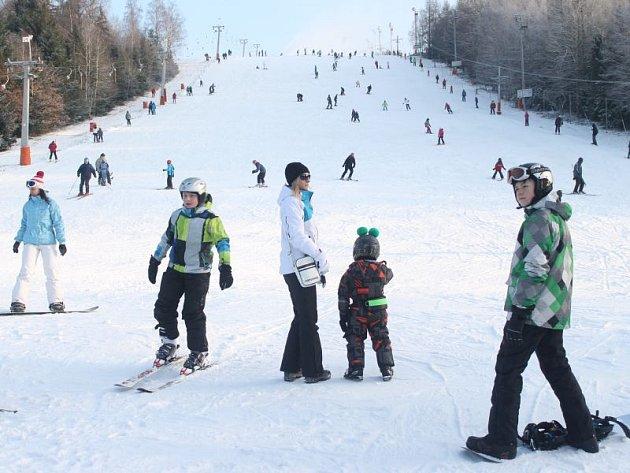 V loňském roce Vaňkův kopec problémy se sněhem neměl, otvíral už 4. prosince.