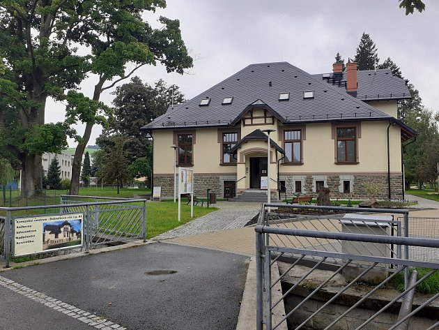 Zrekonstruovaná Dohnálkova vila vHáji ve Slezsku.