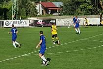 Jakubčovice prohrály v Krnově. Jediný gól jim dal Holčák