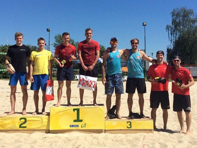 Letní pohár mužů Opava Open 2017.