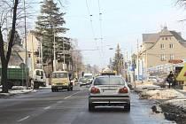 S pracemi na nové křižovatce by se mělo opět začít na přelomu března a dubna.